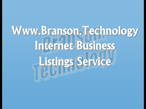 2016 Branson Technology & The Local Online Directory