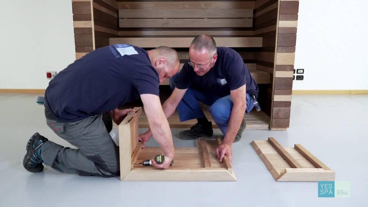 Istruzioni Montaggio Saune Yes Spa