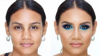 Maquillaje Colorido Usando Paletas de Juvia's Place