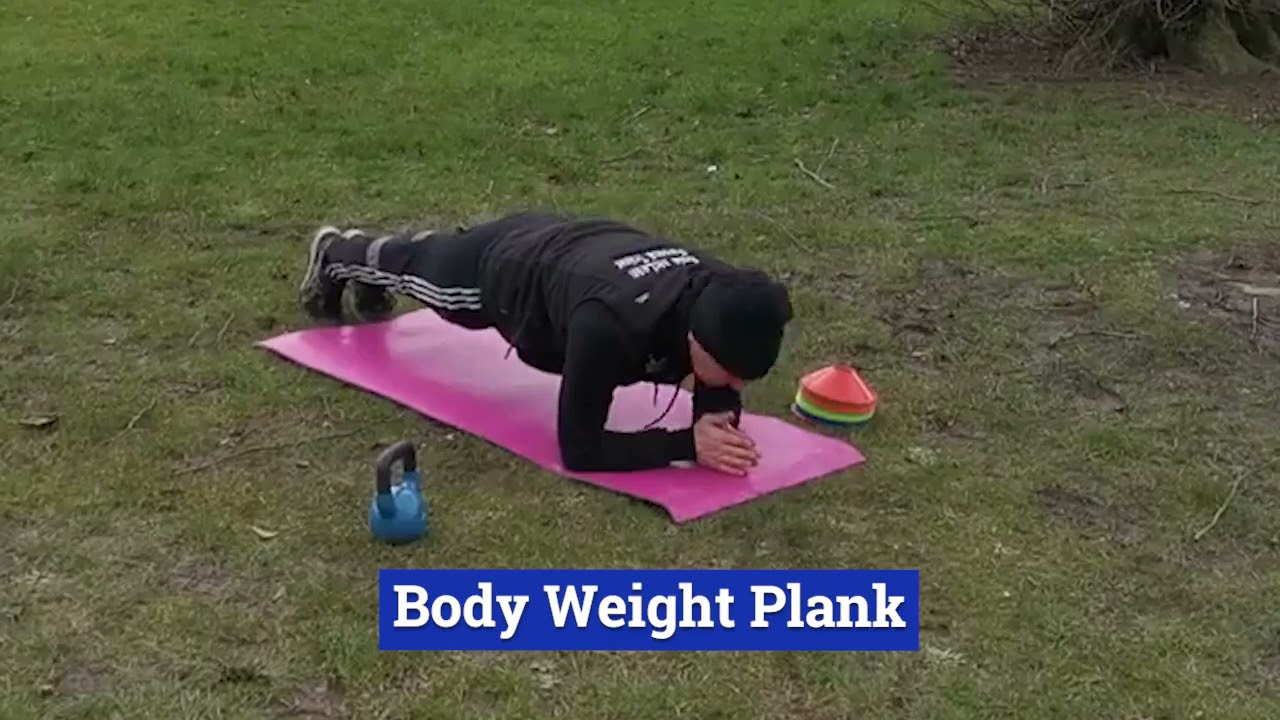 Friday Workout - Core