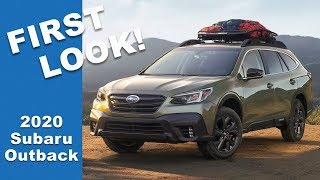 2020 Subaru Outback - First Look!! (NEW) 👀👀