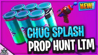 *NEW* FORTNITE CHUG SPLASH & PROP HUNT LTM PROP O MATIC