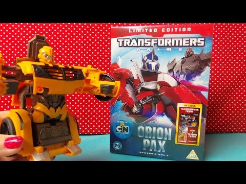 LIMITED EDITION TRANSFORMERS PRIME ORION PAX SEASON 2 UNBOXING