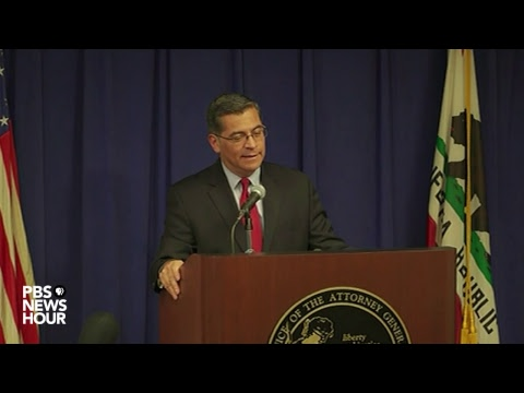 WATCH: California AG Xavier Becerra addresses Stephon Clark case