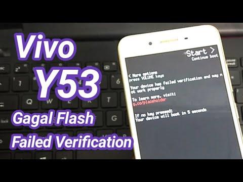 Vivo Y53 Flash Failed Solution || Error Flash || - YouTube