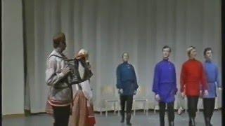 Сергей Сметанин и Северный хор в Швеции.