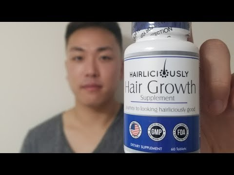 THE BEST HAIR GROWTH VITAMINS FOR HAIR LOSS IN MEN AND WOMEN! - Best