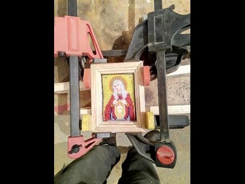 Рамка для иконы из дерева