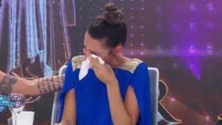 ¿Por qué Pampita se quebró y lloró tras el baile de Griselda Siciliani?