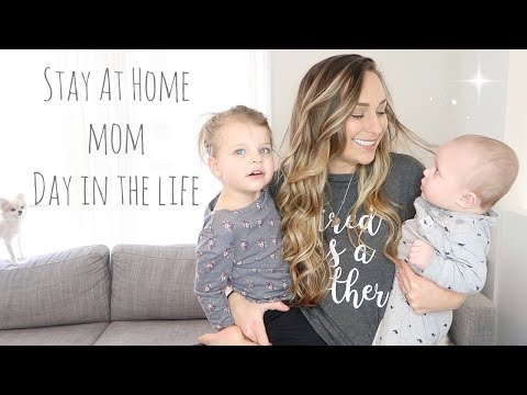 Stay At Home Mom Of Two | Toddler & Baby | Day In The Life | 2018 | Jerah Alaine