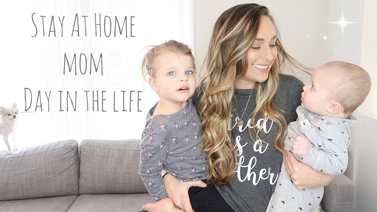 Stay At Home Mom Of Two Toddler Baby Day In The Life 2018 Jerah Alaine
