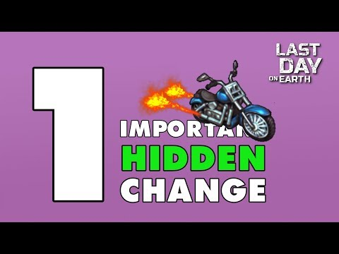 Last Day on Earth: THE HIDDEN CHANGE of update 1.8.4 (Vid#150)