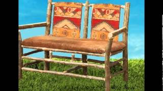 Rustic Seating From Adirondack Rustic Designs