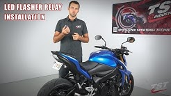 How to install an LED Flasher Relay on a Suzuki GSX-S1000 by TST Industries