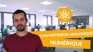 Les caractéristiques d'un convertisseur Analogique Numérique - Physique-Chimie - Terminale S