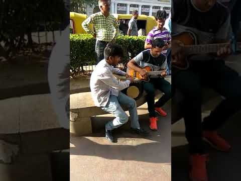 Aadat song  multitalented boy at cannaught place