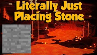 Covering My Nether... In Stone Slabs