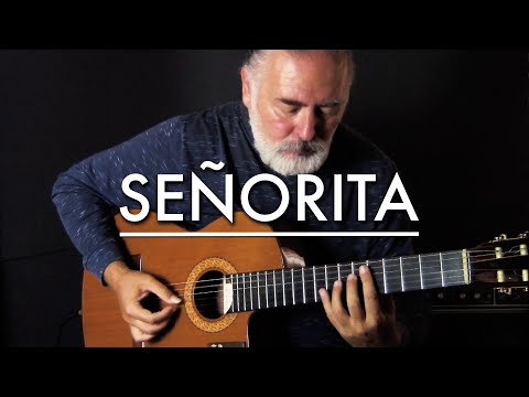 Shawn Mendes, Camila Cabello - Señorita - spanish fingerstyle guitar cover