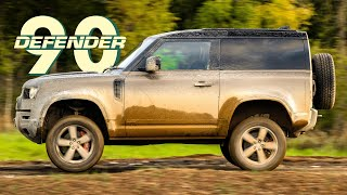 NEW Land Rover Defender 90: Road And Off-Road Review | Carfection 4K