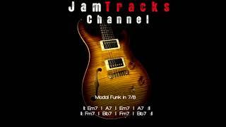 Fusion Jam Track : Modal Funk in 7/8 - JamTracksChannel -