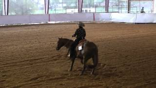 Allyson McBride and Bets Smart Lena at Ardmore, Oklahoma  2014