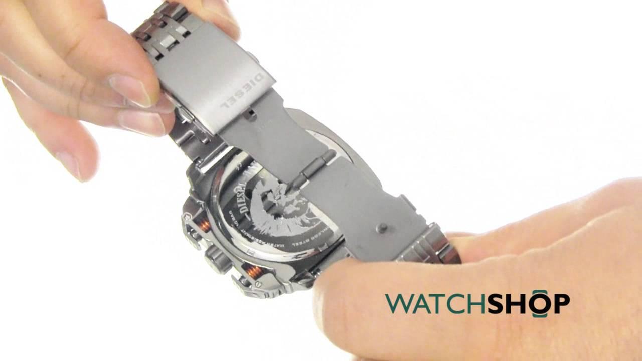 aa9b430125c Diesel Men s BAMF Chronograph Watch (DZ7344) - YouTube