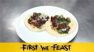 10 Dishes: Alex Stupak's Lamb Barbacoa Tacos thumbnail