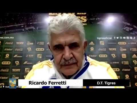 Tigres 1 - 3 Cruz Azul │ Ricardo Ferretti │ D.T. Tigres │ Conferencia de Prensa │ 4TOS DE FNAL