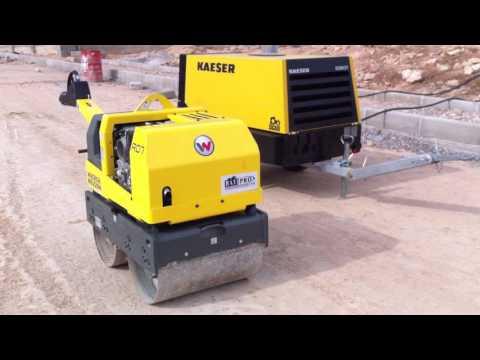Wacker RD7 HES + Kaeser compresseur M27