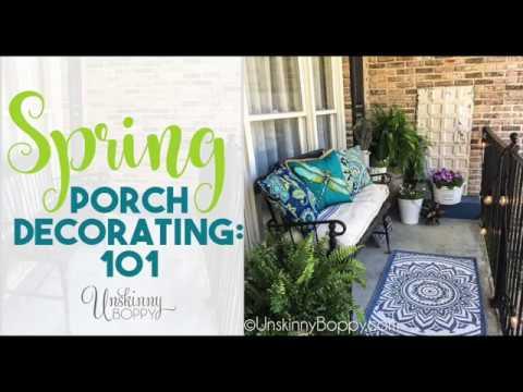 Simple Spring Porch Decorating 101