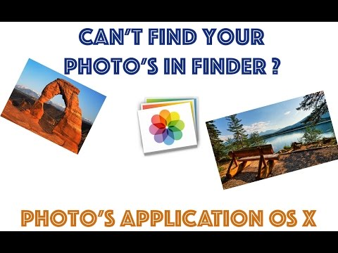 How To Show Photos In Finder From Photos App