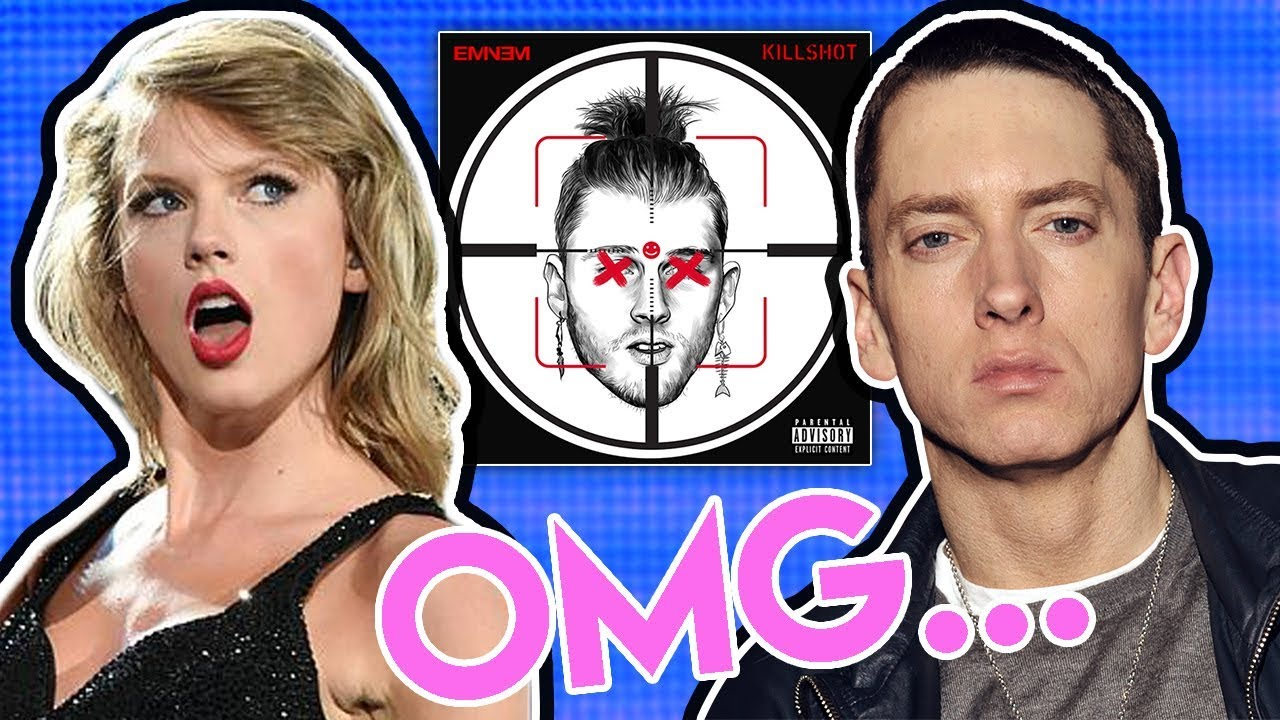 Did Eminem DISS Taylor Swift in new track KILLSHOT??