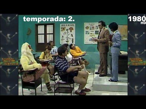 La Carabina de Ambrosio (1980) La Escuelita: El Inspector. (Programa Completo).