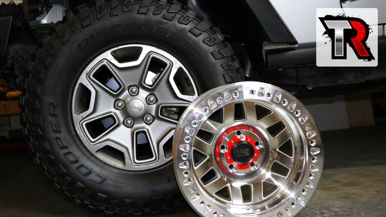 Jeep Jk Wheels >> Why I Decided to Get Beadlocks for My Jeep – KMC Machete XD's - YouTube