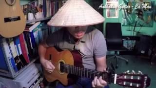 Vùng ngoại ô - Cô hàng xóm (Bolero Guitar) - Anhbaduy Guitar Cà Mau