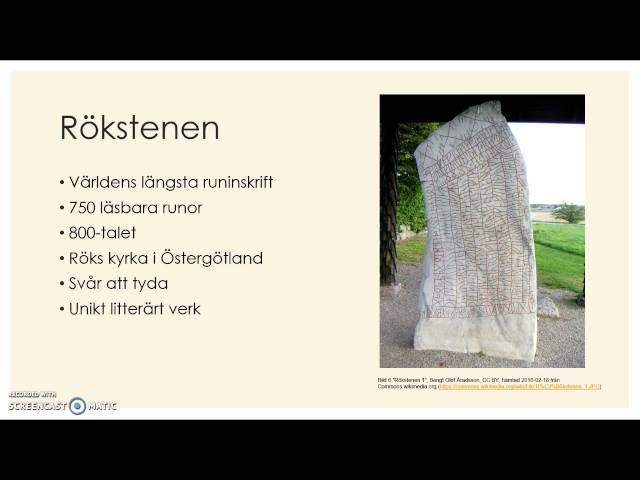 Svensk språkhistoria del 1, Runsvenska