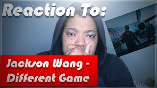 Reaction to: Jackson Wang - Different Game Video