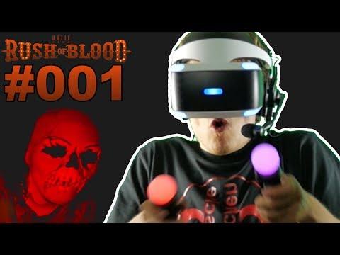 HORROR ACHTERBAHN PLAYSTATION VR 🐲 Let's Play Until Dawn Rush of Blood  VR #001 [Facecam/Deutsch]