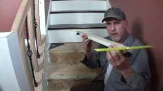 Build A Stair Tread Jig