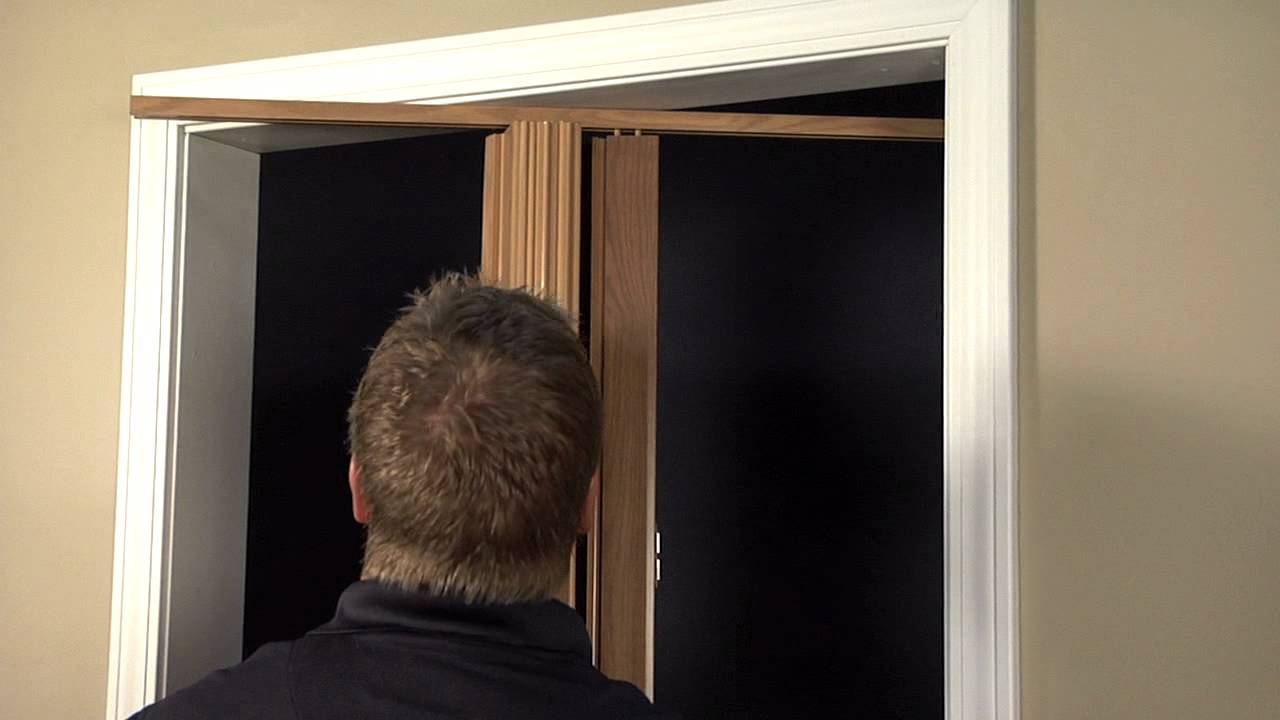Oakmont or Encore Folding Door Installation- Single Door (with Magnets) - YouTube & Oakmont or Encore Folding Door Installation- Single Door (with ...