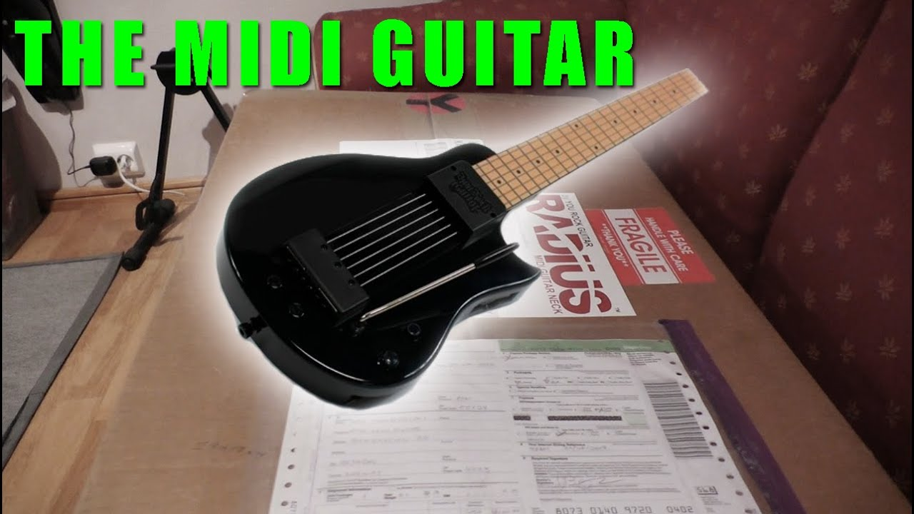 MIDI Metal: The Best MIDI Guitar 2017 [The Odin from Solemn Tones .