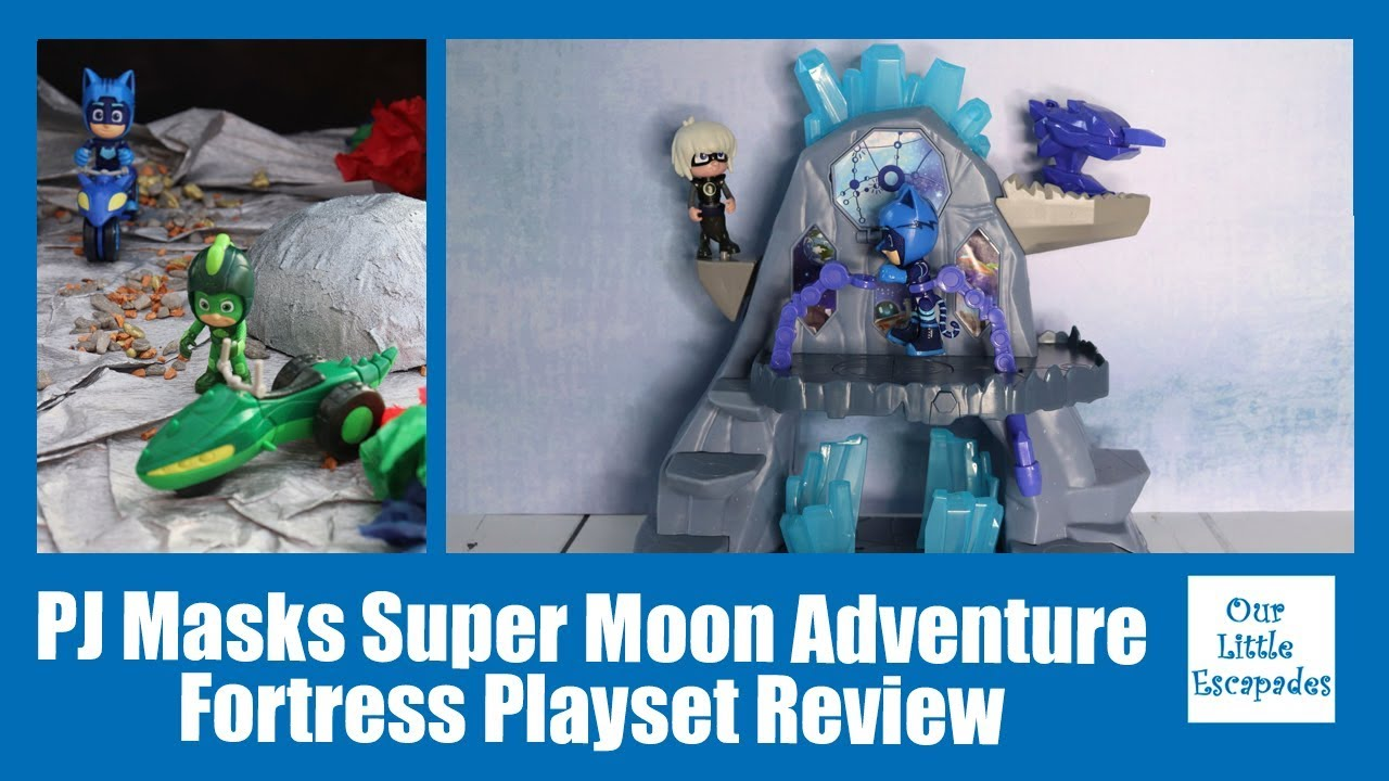 Toy Super Moon Adventure Fortress Playset PJ Masks