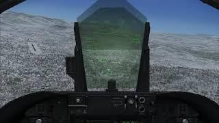 FSX SE: Steamboat Springs(KSBS) default landing 스팀보트 스프링 비행장 기본 시너리