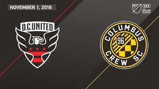 HIGHLIGHTS: D.C. United vs. Columbus Crew | November 1, 2018