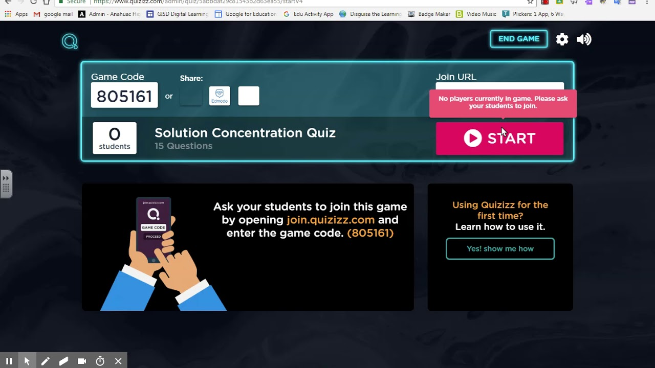 quizizz and quizlet - YouTube