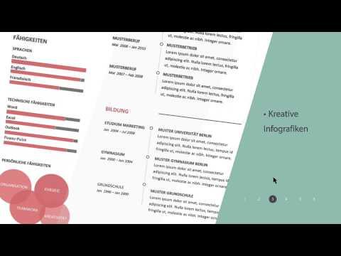 Perfekte Bewerbungsvorlagen, Bewerbungsschreiben und Lebenslauf Muster