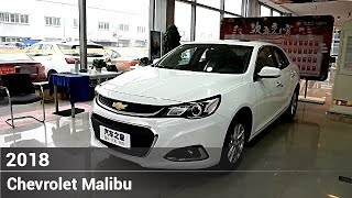 Chevrolet Malibu 2018 Sedan 530T Mid-Size Car & Hybrid Car Full Review