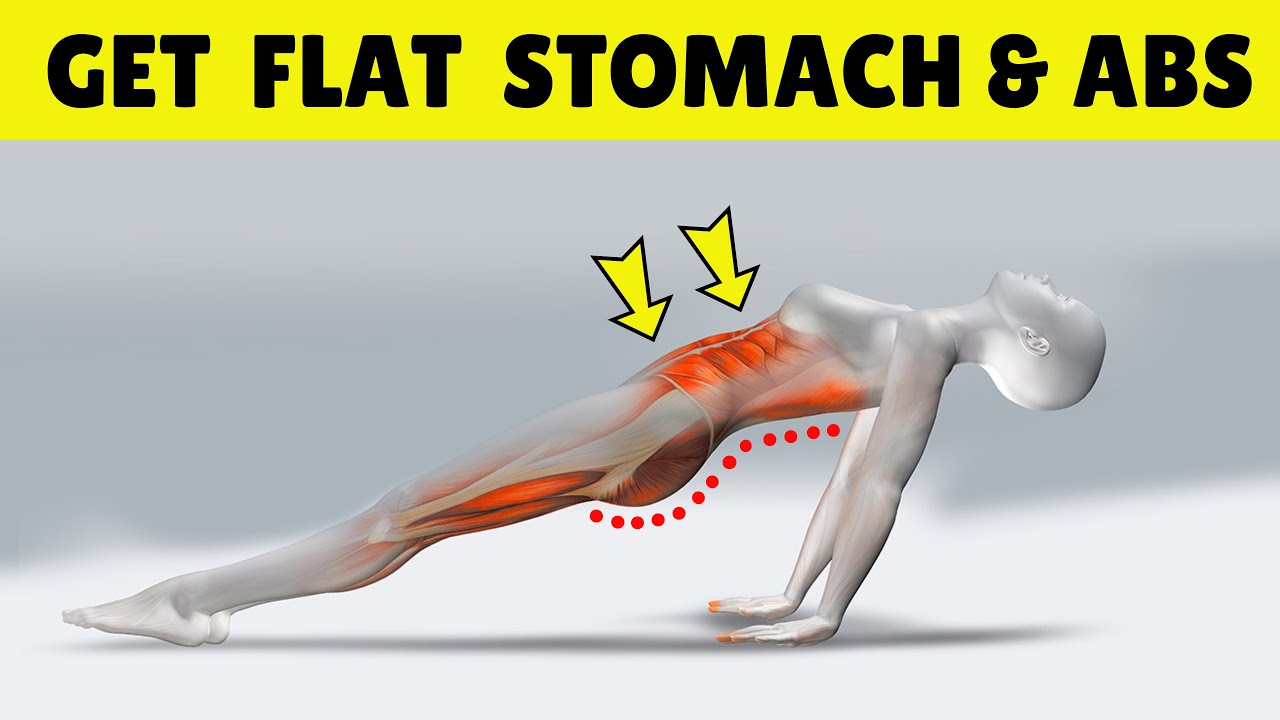 Download 10 Minute Home Workout to Get Abs & Flat Stomach Fast at Home | Planking by HealthPedia