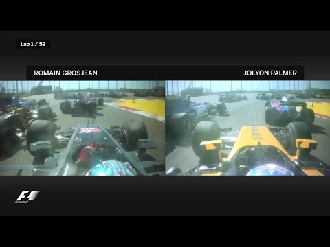 2017 Russian Grand Prix: The Best Onboard Action
