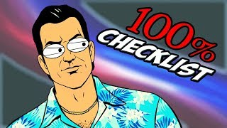 GTA Vice City: 100% CHECKLIST / GUIDE [+BEST Order of Completion]
